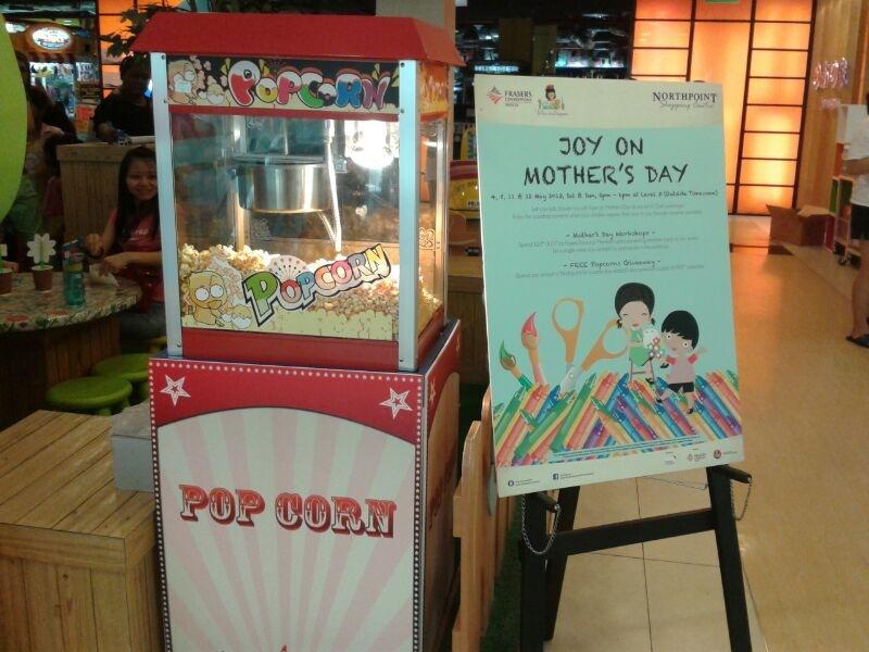 popcorn machine Singapore
